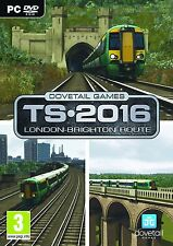 London to Brighton - Stand Alone/Add-on for Train Simulator 2015/16 (PC-DVD) NEW