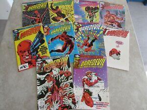 Daredevil Comic Lot # 180 182 184 185 186 187 188 189 190 191 VF/NM Frank Miller