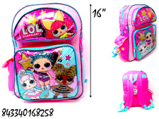 """Glitterati- Lol Surprise 16"""" Backpack Very Ideal For Gift  !Buy One Now!- 8258"""