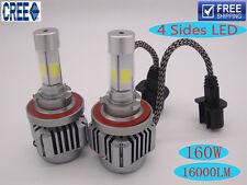 Super Bright  6000K 160W 16000LM CREE LED Headlight Kit Bulbs H1 H4 H7 H11 9005