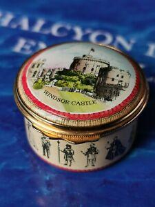 Halcyon Days Enamels Box Windsor Castle The Royal Residents England
