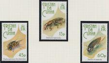 Tristan da Cunha 1993 Insects MINT set & sheet sg539-541 MNH