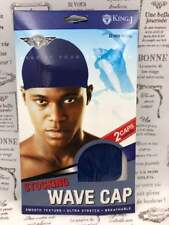 KING.J STOCKING WAVE CAP 2 CAPS PER PACK #065 ROYAL SMOOTH, ULTRA STRETCH