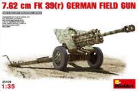 Miniart 35104 German field gun 7.62cm FK 39 (r) 154 mm 1/35 plastic model kit
