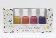 Essie Nail Lacquer- Mini Shimmer Brights Summer 2016-4 Colors x 0.16oz- #87113