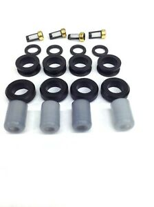 FUEL INJECTOR REPAIR KIT O-RING FILTERS GROMMETS CAPS INP 051 L4