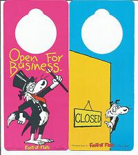 5 Open For Business Porta Manopola segnali-BIADESIVO STAFFA-SHOP NEGOZIO HOTEL