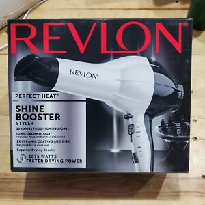 REVLON RV484 Ion 1875W HAIR DRYER Internal Ceramic Disc Technology Imported
