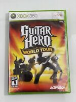 SEALED Guitar Hero World Tour Xbox 360 Game ONLY Brand New Fast Free Shipping