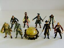 "Disney Pirates Of The Caribbean Zizzle 4"" Action Figures Bundle"