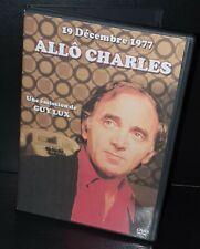 Allo Charles 19.12 1977 (Aznavour, Dalida, Serge Lama, Mireille Mathieu...) Dvd