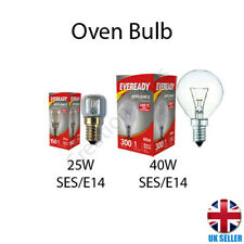 Oven Bulb Lamp 300°C Cooker Appliance Light 25W 40W Small Screw E14 SES 240V UK