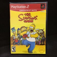 Simpsons Game (Sony PlayStation 2, 2007) Greatest Hits BRAND NEW