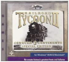 Railroad Tycoon II: Conquer 3 Continents Special Edition for PC/Apple Macintosh