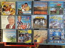 VOLKSMUSIK CD PAKET: 34 STÜCK/FRANKELLO BURGENLANDKAPELLE SCHÄFER WIEDL FREDDY++