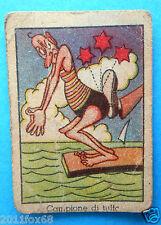 figurines cromos cards figurine umoristiche anni 30 40 v.a.v. vav campione tuffi