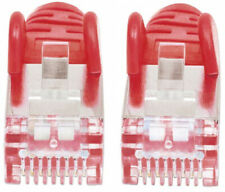 More details for intellinet network patch cable cat6 1m red copper s/ftp cable foiled/twiste