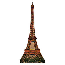 "EIFFEL TOWER 88"" Tall Paris France CARDBOARD CUTOUT Standee Standup Poster Prop"