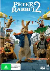 Peter Rabbit 2 The Runaway BRAND NEW Region 4 DVD IN STOCK NOW