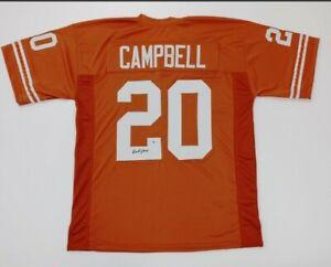 Earl Campbell Signed Jersey (Beckett COA)Texas Longhorns