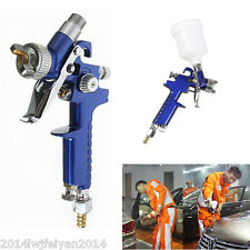 Mini HVLP Air Spray Gun Auto Car Detail Touch Up Paint Sprayer Spot Repair Tool