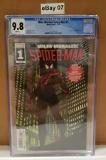 Miles Morales: Spider-man #1 (2019 Series) CGC 9.8 White-Pages CERT 3712007016