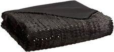 New designer glamourpuss luxury bed throw 135 x 200cm
