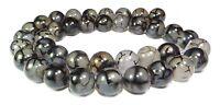 😏 Drachen-Achat 10 mm Kugeln Achat Perlen Strang für Kette & mehr 😉