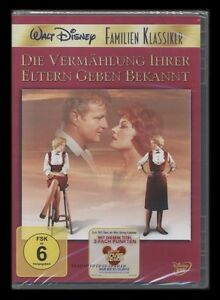 DVD WALT DISNEY DIE VERMÄHLUNG IHRER ELTERN GEBEN BEKANNT DAS DOPPELTE LOTTCHEN