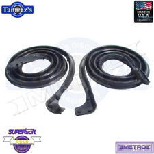 66-67 Commando 66-73 Jeepster Door Weatherstrip Seals Molded LM96 Metro USA MADE