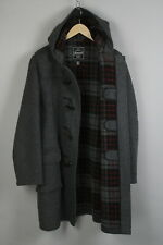 GLOVERALL DUFFLE COAT Men's EUR 54 or ~X LARGE Wool Blend Toggle Coat 20632_JS