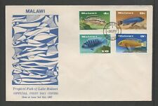 MALAWI 1967 TROPICAL FISH OF LAKE MALAWI UNADDRESSED FDC *GOOD*