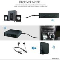 2 in 1 Bluetooth 5,0 Sender und Empfänger 3,5mm AUX Adapter Audio Wireless W2R3