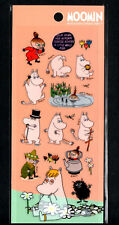 Moomin Stickers Sticker Sheets lot Kawaii Look Rare Little My Snorkmaiden F