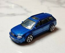 Matchbox 1-75 1:64 Audi RS6 Estate Blue Superfast 5 Spoke Wheels MINT Loose