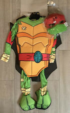 New Nickelodeon Rise of the Tmnt Raphael Costume Dress up Size Boy Small 4-6