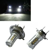 H7 CREE LED Car Light Bulbs Foglight Fog BRIGHT 80W C63 W204 AMG Mercedes
