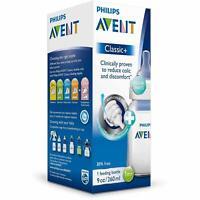 Philips Avent Classic+ Feeding Bottle 125ml (0m+) Anti Colic Newborn Flow Teat