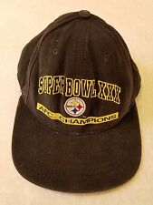 Vintage Super Bowl XXX 30 Steelers 1996 Hat Cap Sun Devil Stadium dc9dcfd0a