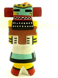 "Vintage Hopi Route 66 Guard Kachina  6.5"""