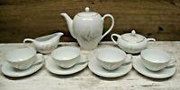 13 pc Kaysons Vintage Tea Pot  Set Golden Rhapsody Fine China Japan 1961