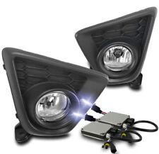13-15 MAZDA CX-5 CX5 BUMPER DRIVING CHROME FOG LIGHT LAMP W/10K XENON HID+SWITCH