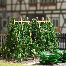 BUSCH HO SCALE 1/87 BEAN PLANTS ON WOOD POLES BN 1269