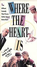 WHERE THE HEART IS (VHS) Dabney Coleman, Uma Thurman, Christopher Plummer