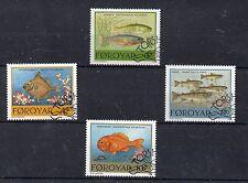 Feroe Fauna Acuatica Peces Serie del año 1994 (CA-424)