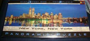 Panoramic puzzle New York New York