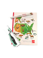 Coca-Cola Back To School bundle with vintage notebook - FREE SHIPPING