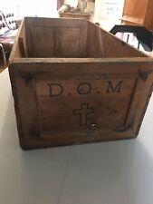 Très Rare Belle Caisse En Bois Dom Perignon 12 Bouteilles Circa 1900