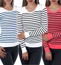 Damen-Pullover aus Baumwollmischung in Größe 38