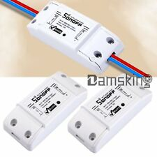 2x Sonoff WiFi Smart Switch Timer APP Fernbedienung Home Steckdose IOS/Android